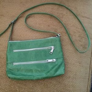 Green HOBO Original Crossover Purse